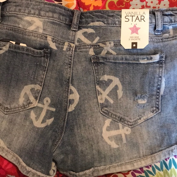 343e6368b19 Vanilla Star Shorts   Brand New Anchor Sz 9   Poshmark
